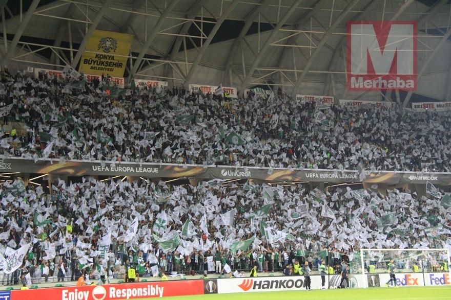 Atiker Konyaspor-Shakhtar Donetsk maçından kareler 14