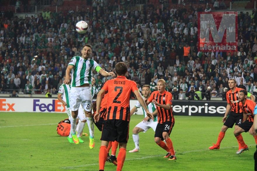 Atiker Konyaspor-Shakhtar Donetsk maçından kareler 16