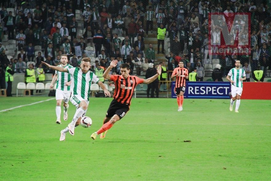 Atiker Konyaspor-Shakhtar Donetsk maçından kareler 17