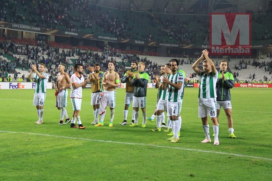 Atiker Konyaspor-Shakhtar Donetsk maçından kareler 18