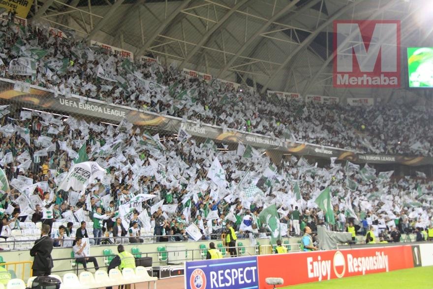 Atiker Konyaspor-Shakhtar Donetsk maçından kareler 2