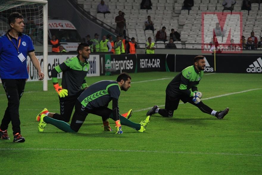 Atiker Konyaspor-Shakhtar Donetsk maçından kareler 5