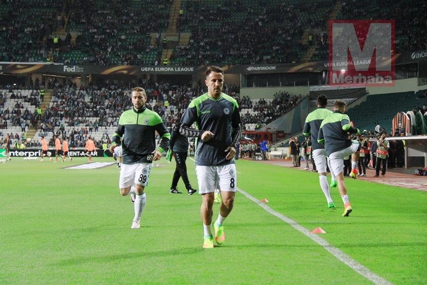 Atiker Konyaspor-Shakhtar Donetsk maçından kareler 6