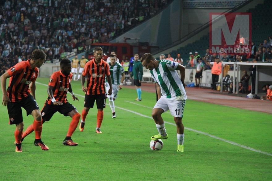 Atiker Konyaspor-Shakhtar Donetsk maçından kareler 9