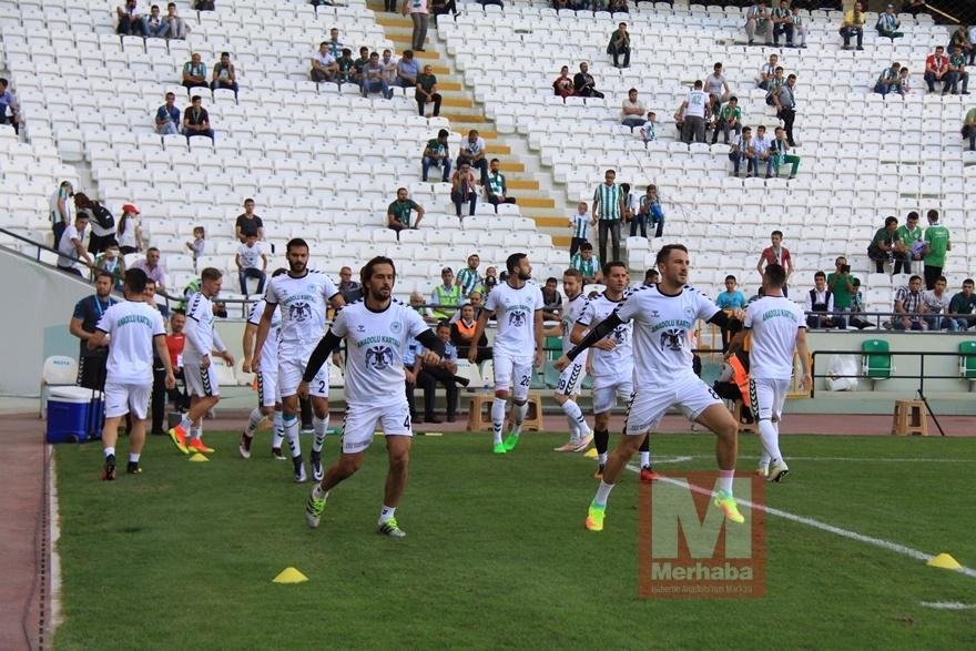 Konyspor-Gençlerbirliği maçı öncesi kameralara yansıyanlar 10