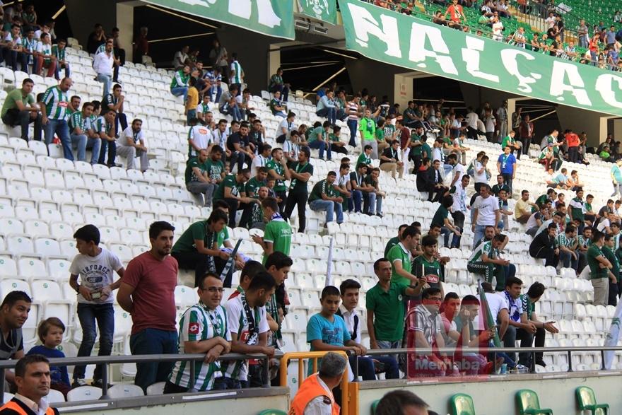 Konyspor-Gençlerbirliği maçı öncesi kameralara yansıyanlar 11