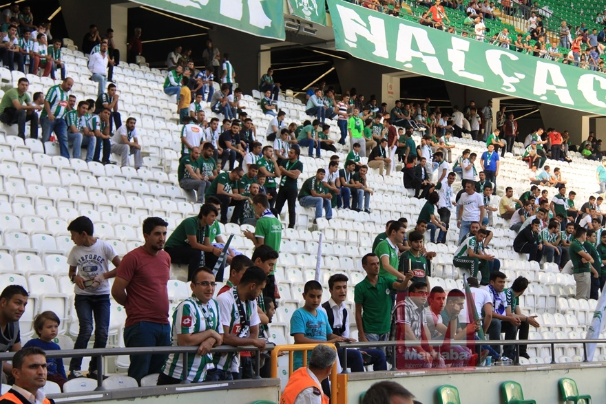 Konyspor-Gençlerbirliği maçı öncesi kameralara yansıyanlar 12