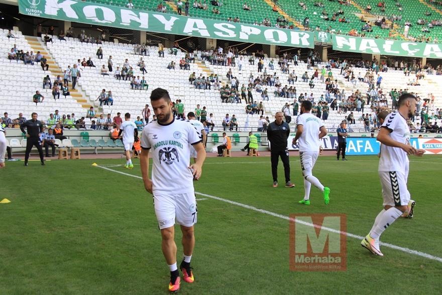Konyspor-Gençlerbirliği maçı öncesi kameralara yansıyanlar 13