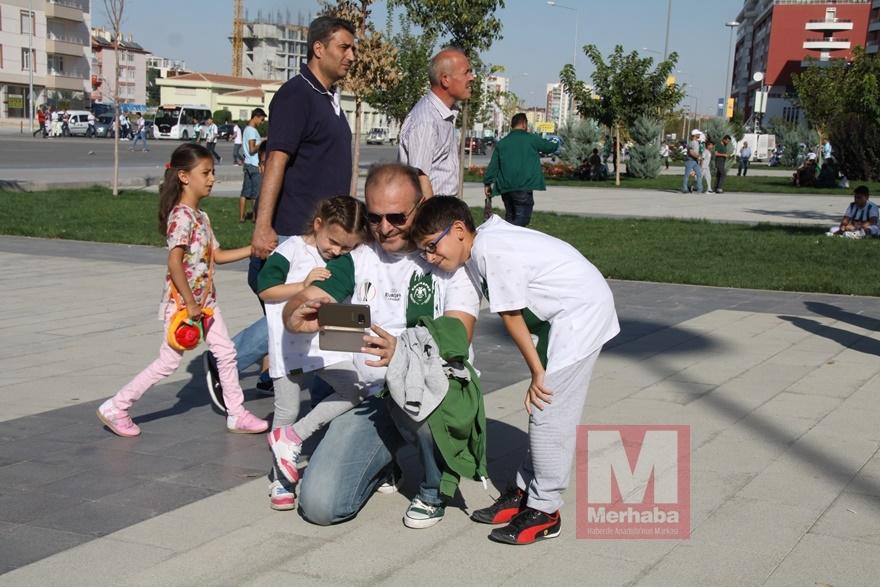 Konyspor-Gençlerbirliği maçı öncesi kameralara yansıyanlar 2