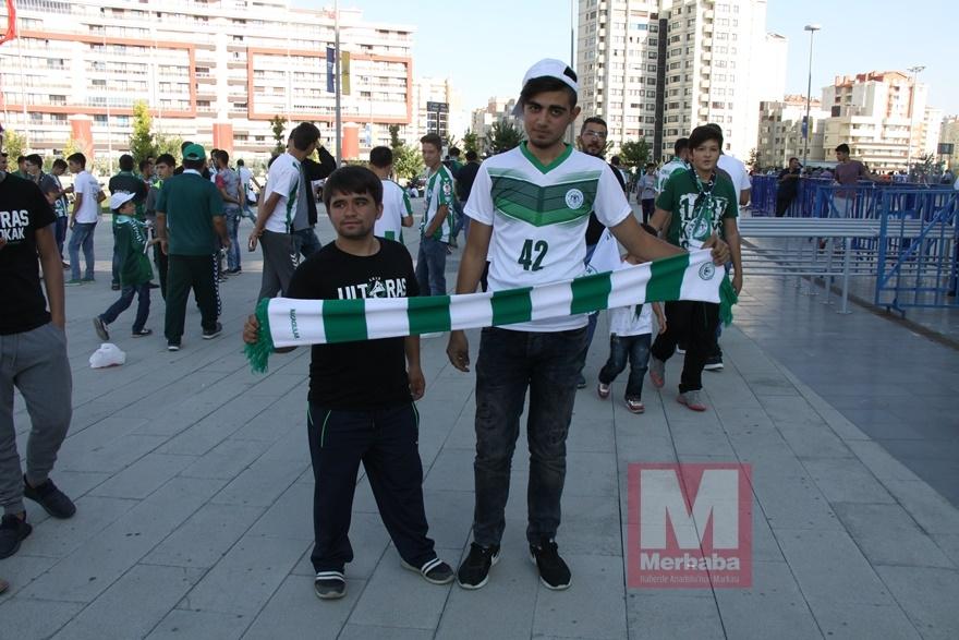 Konyspor-Gençlerbirliği maçı öncesi kameralara yansıyanlar 7