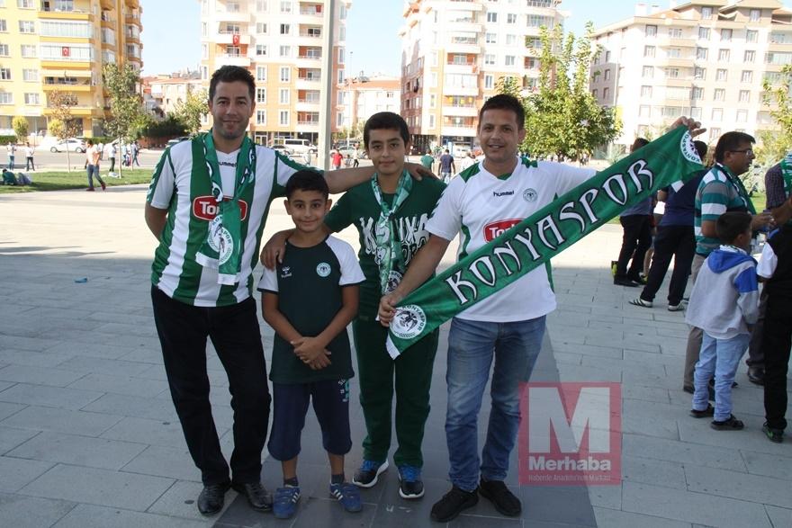 Konyspor-Gençlerbirliği maçı öncesi kameralara yansıyanlar 9