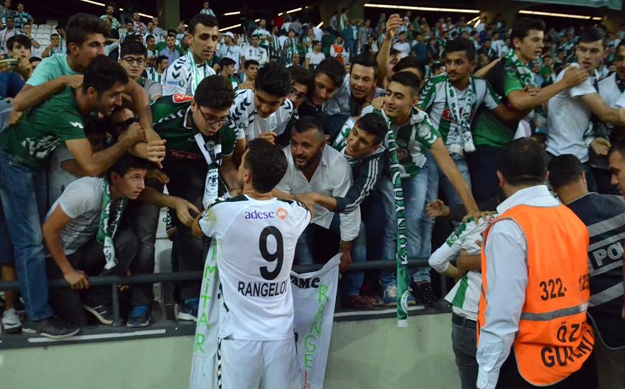 Konyaspor-Gençlerbirliği maçından kareler 10