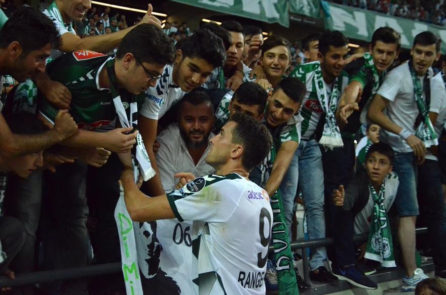Konyaspor-Gençlerbirliği maçından kareler 11