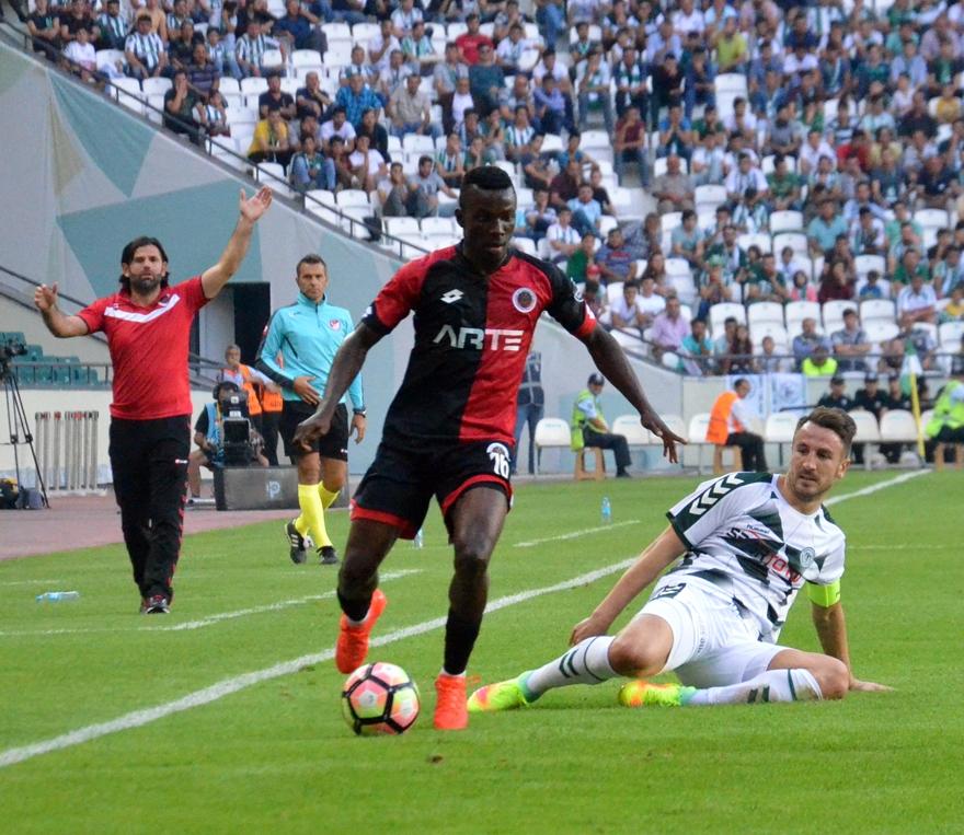 Konyaspor-Gençlerbirliği maçından kareler 15
