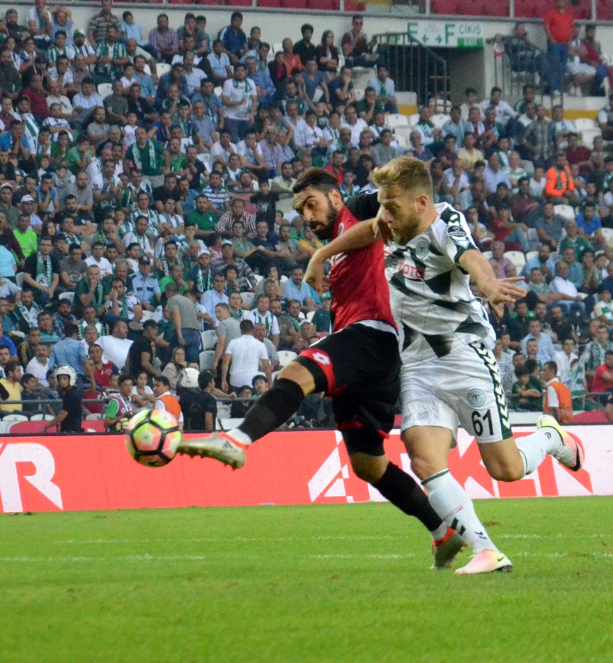 Konyaspor-Gençlerbirliği maçından kareler 19