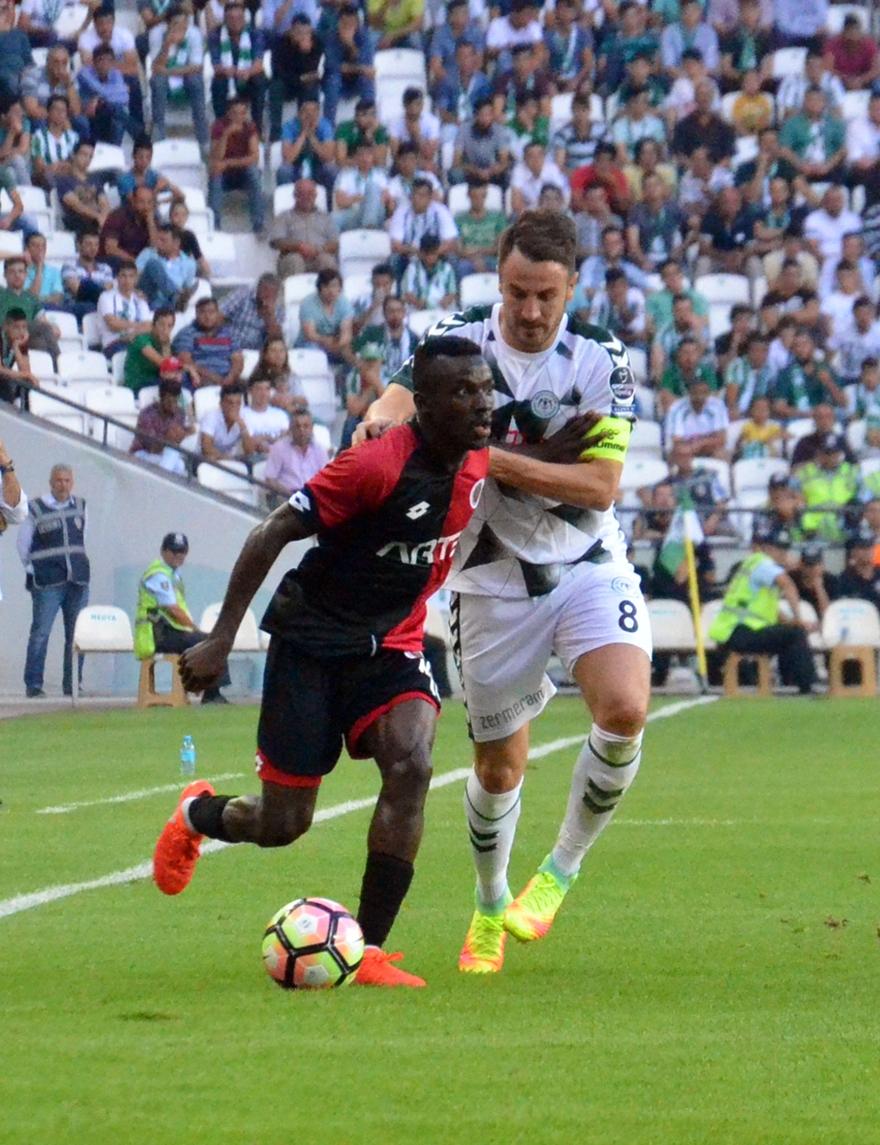 Konyaspor-Gençlerbirliği maçından kareler 20