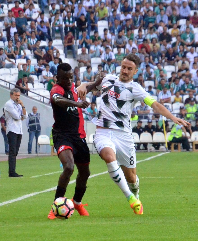 Konyaspor-Gençlerbirliği maçından kareler 21
