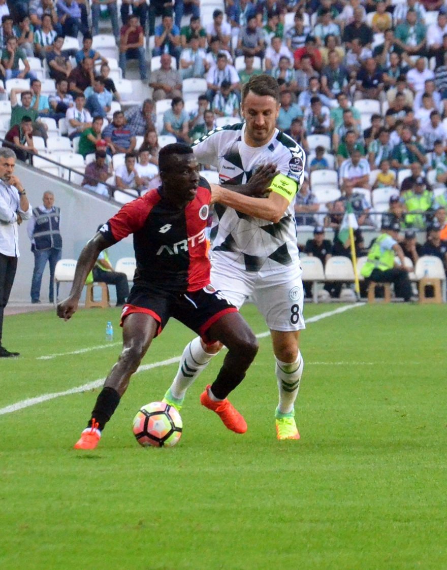 Konyaspor-Gençlerbirliği maçından kareler 22