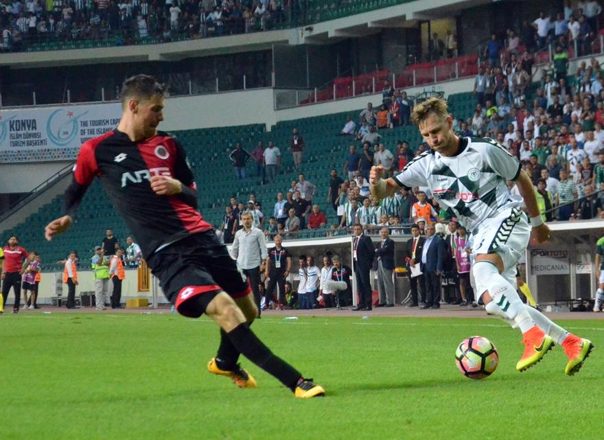 Konyaspor-Gençlerbirliği maçından kareler 4