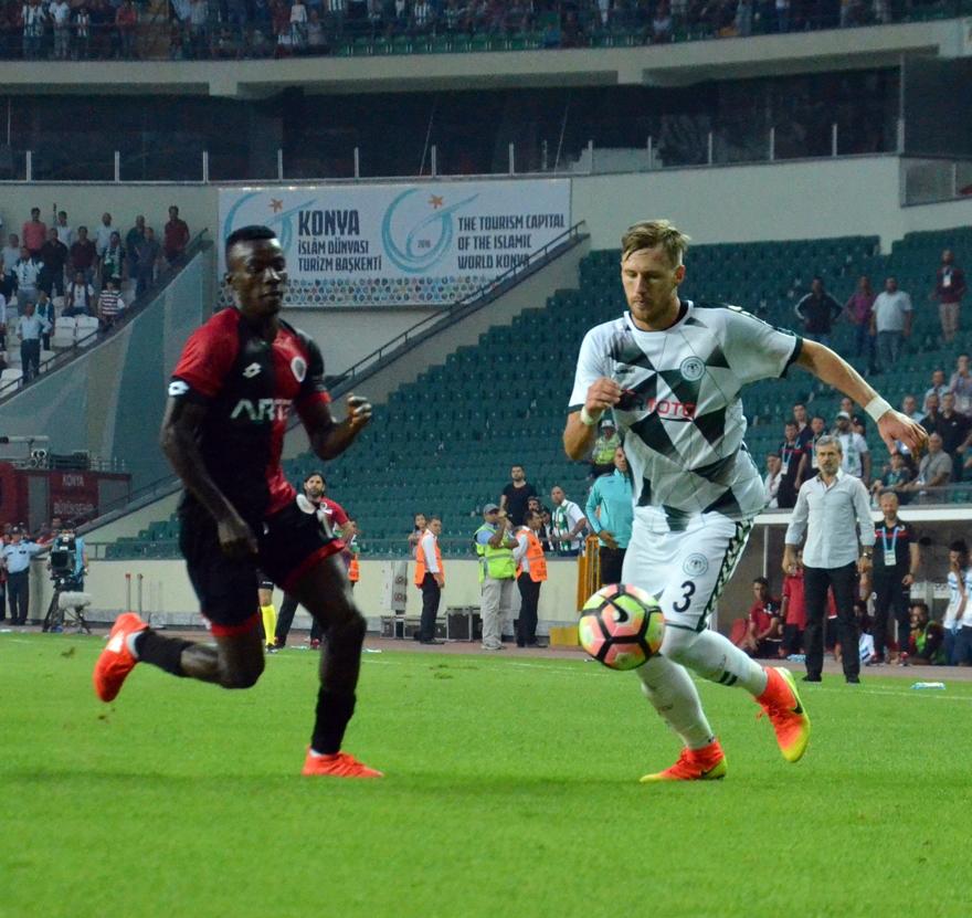 Konyaspor-Gençlerbirliği maçından kareler 5