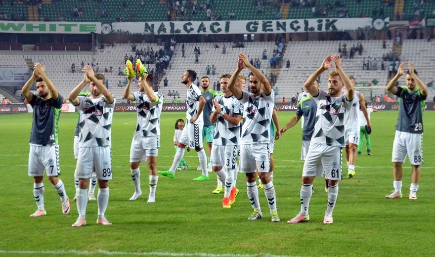 Konyaspor-Gençlerbirliği maçından kareler 8