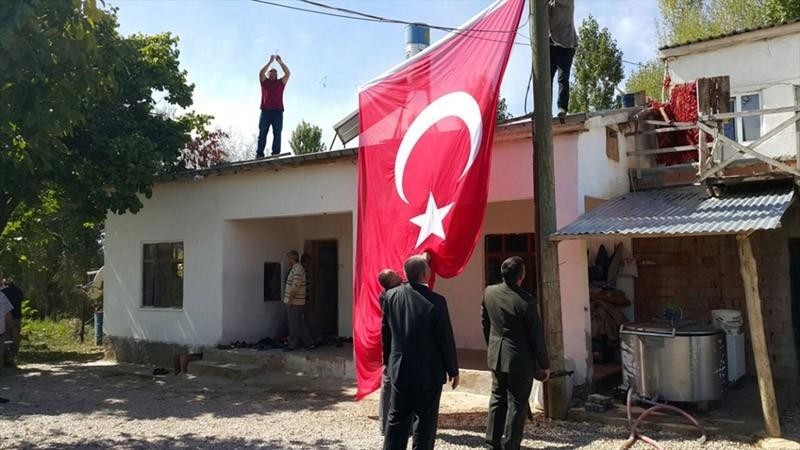 Konya şehidi Enes Kaya'nın evi herkesi üzdü 3