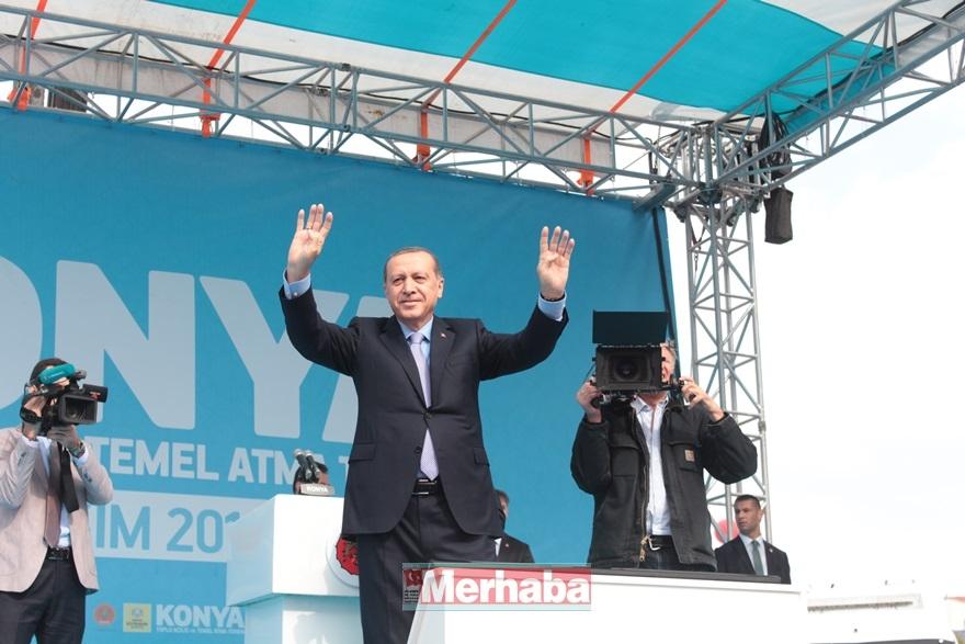 Cumhurbaşkanı Erdoğan Konya'da halka seslendi 1