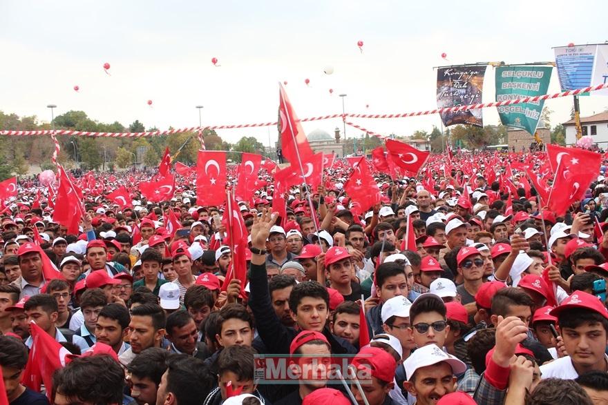Cumhurbaşkanı Erdoğan Konya'da halka seslendi 2