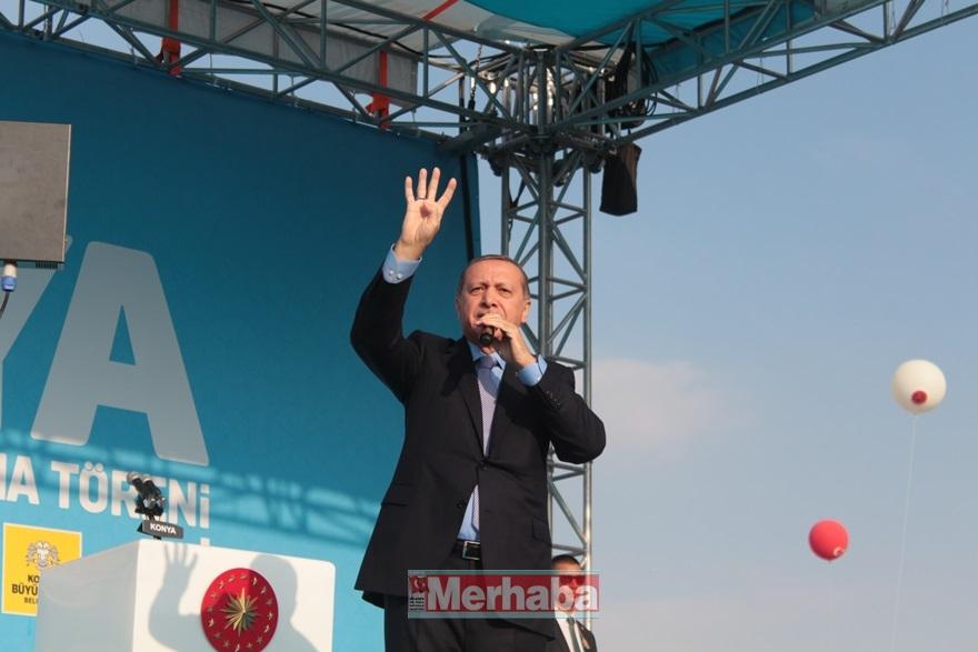 Cumhurbaşkanı Erdoğan Konya'da halka seslendi 21