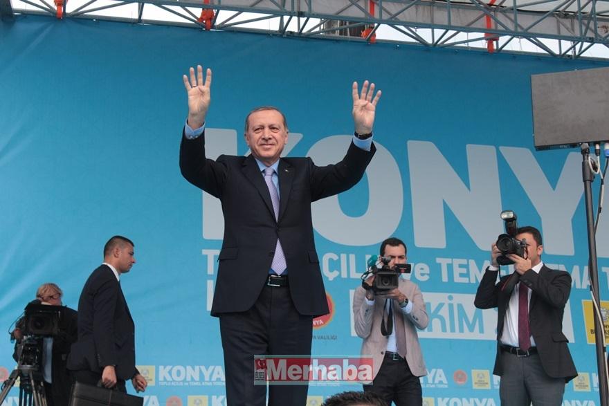 Cumhurbaşkanı Erdoğan Konya'da halka seslendi 23