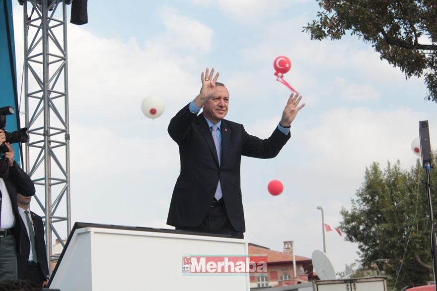 Cumhurbaşkanı Erdoğan Konya'da halka seslendi 24