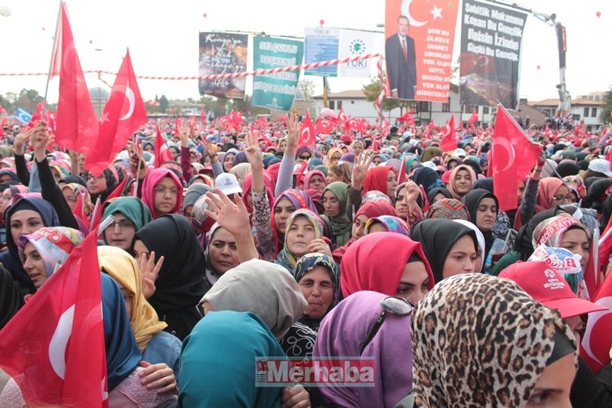 Cumhurbaşkanı Erdoğan Konya'da halka seslendi 31