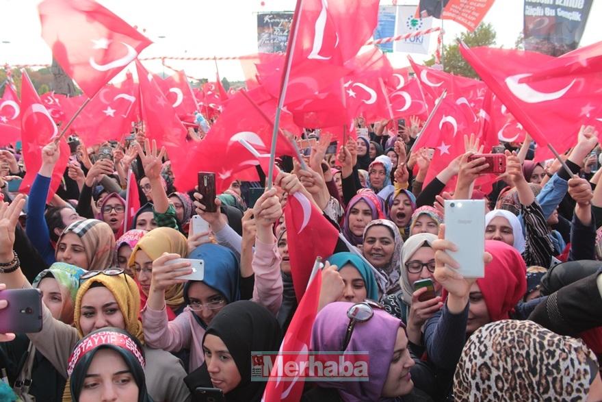 Cumhurbaşkanı Erdoğan Konya'da halka seslendi 32