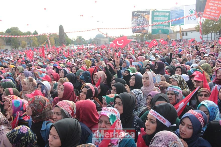 Cumhurbaşkanı Erdoğan Konya'da halka seslendi 33
