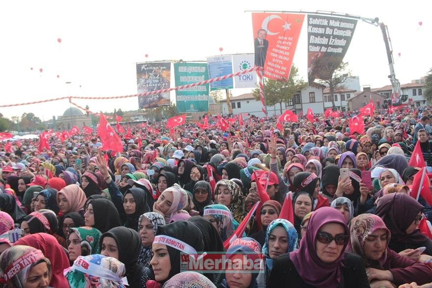 Cumhurbaşkanı Erdoğan Konya'da halka seslendi 34