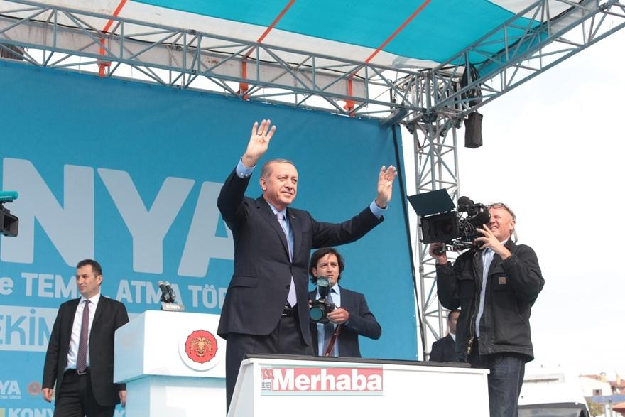 Cumhurbaşkanı Erdoğan Konya'da halka seslendi 5