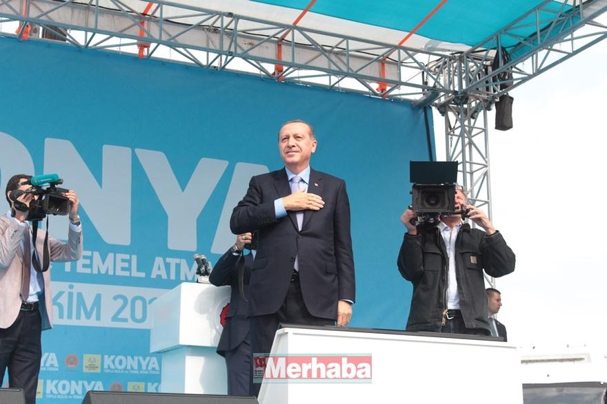Cumhurbaşkanı Erdoğan Konya'da halka seslendi 6