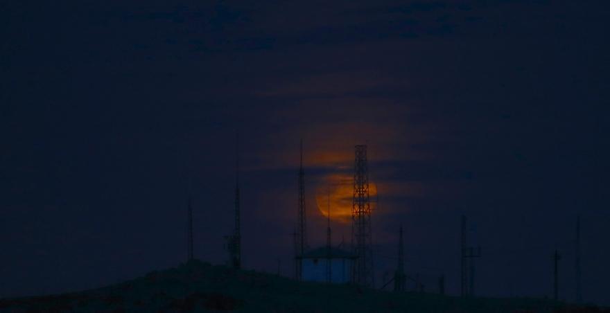 Konya'da Süper Ay 1