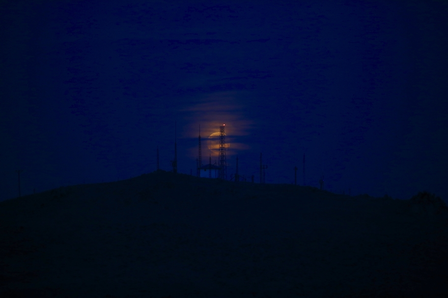 Konya'da Süper Ay 2