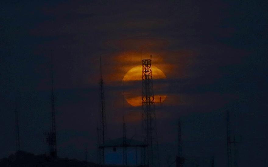 Konya'da Süper Ay 3