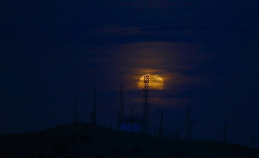 Konya'da Süper Ay 4