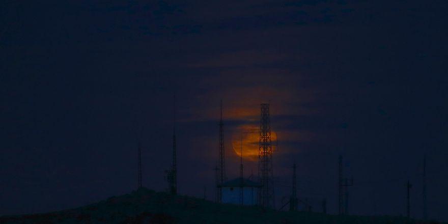 Konya'da Süper Ay