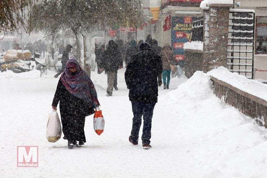 Konya'dan kar manzaraları [37 FOTO] 13