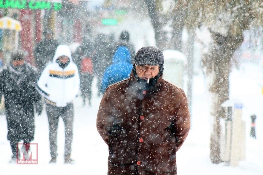 Konya'dan kar manzaraları [37 FOTO] 15