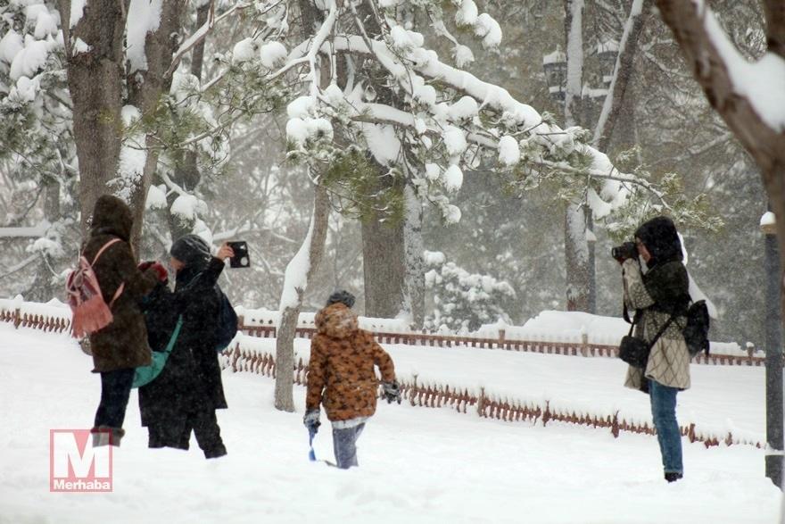 Konya'dan kar manzaraları [37 FOTO] 16