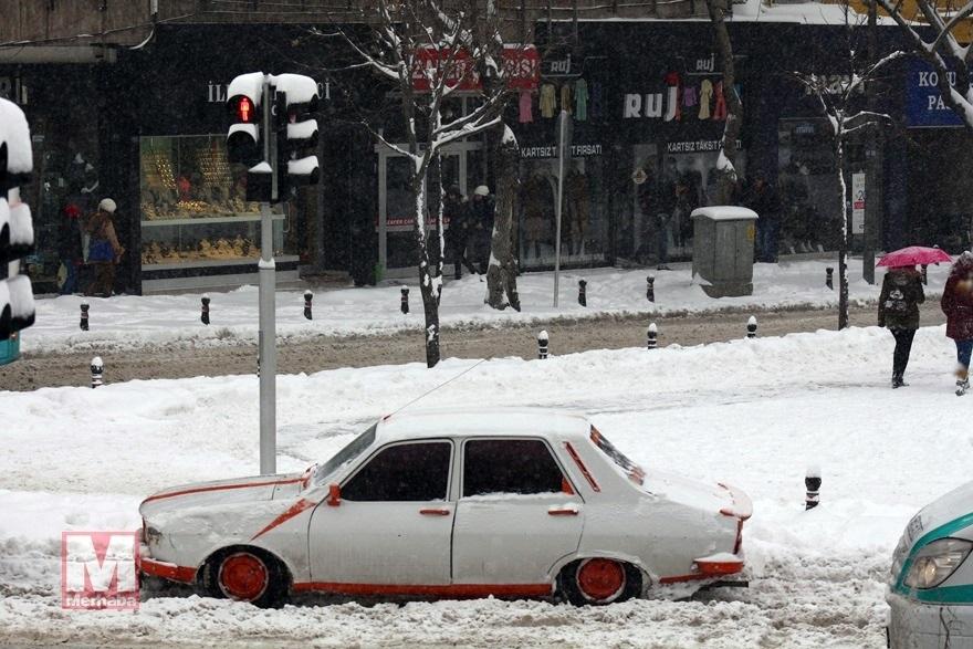 Konya'dan kar manzaraları [37 FOTO] 17