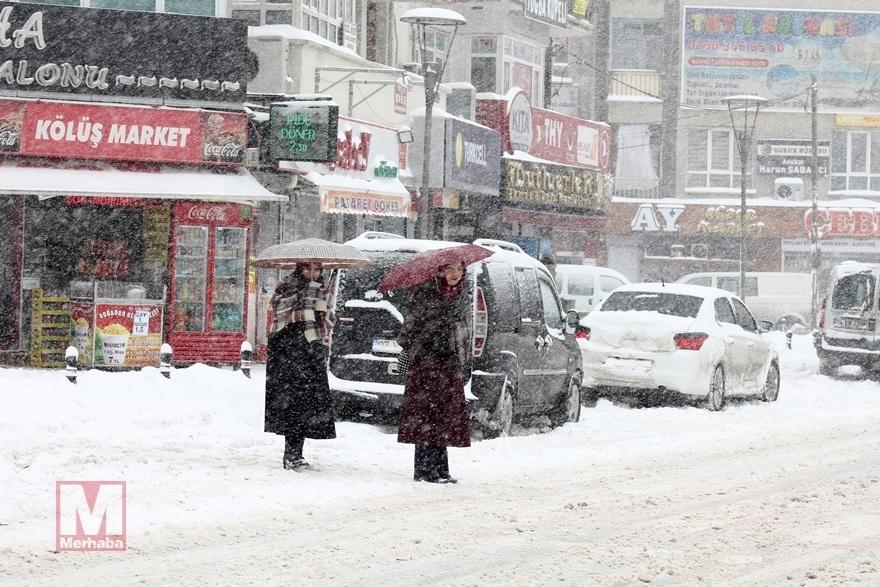 Konya'dan kar manzaraları [37 FOTO] 18
