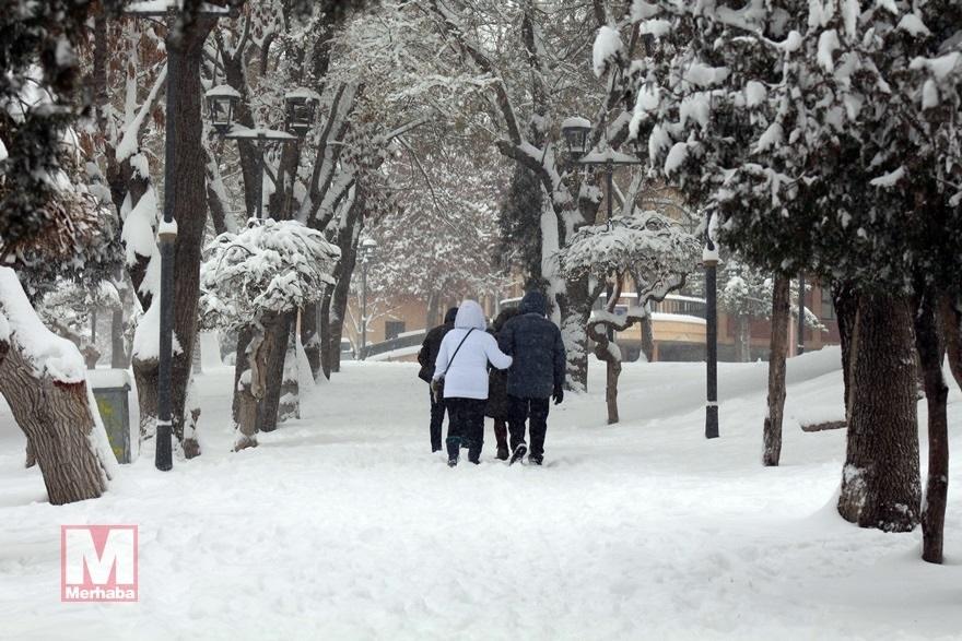 Konya'dan kar manzaraları [37 FOTO] 19