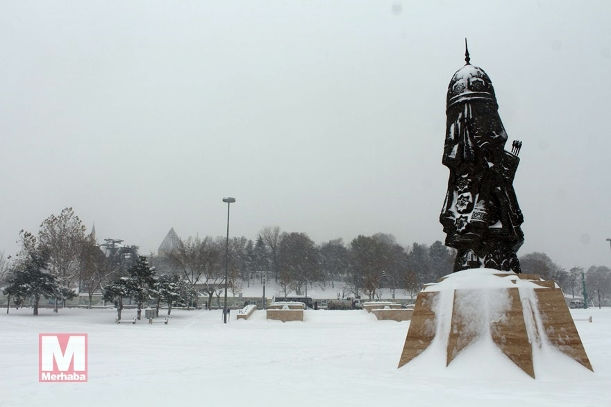 Konya'dan kar manzaraları [37 FOTO] 2