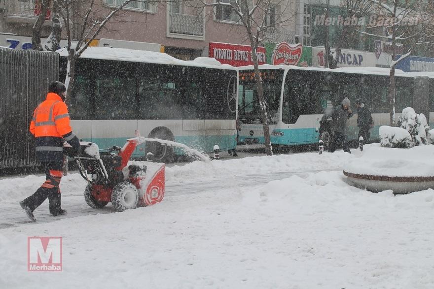 Konya'dan kar manzaraları [37 FOTO] 25